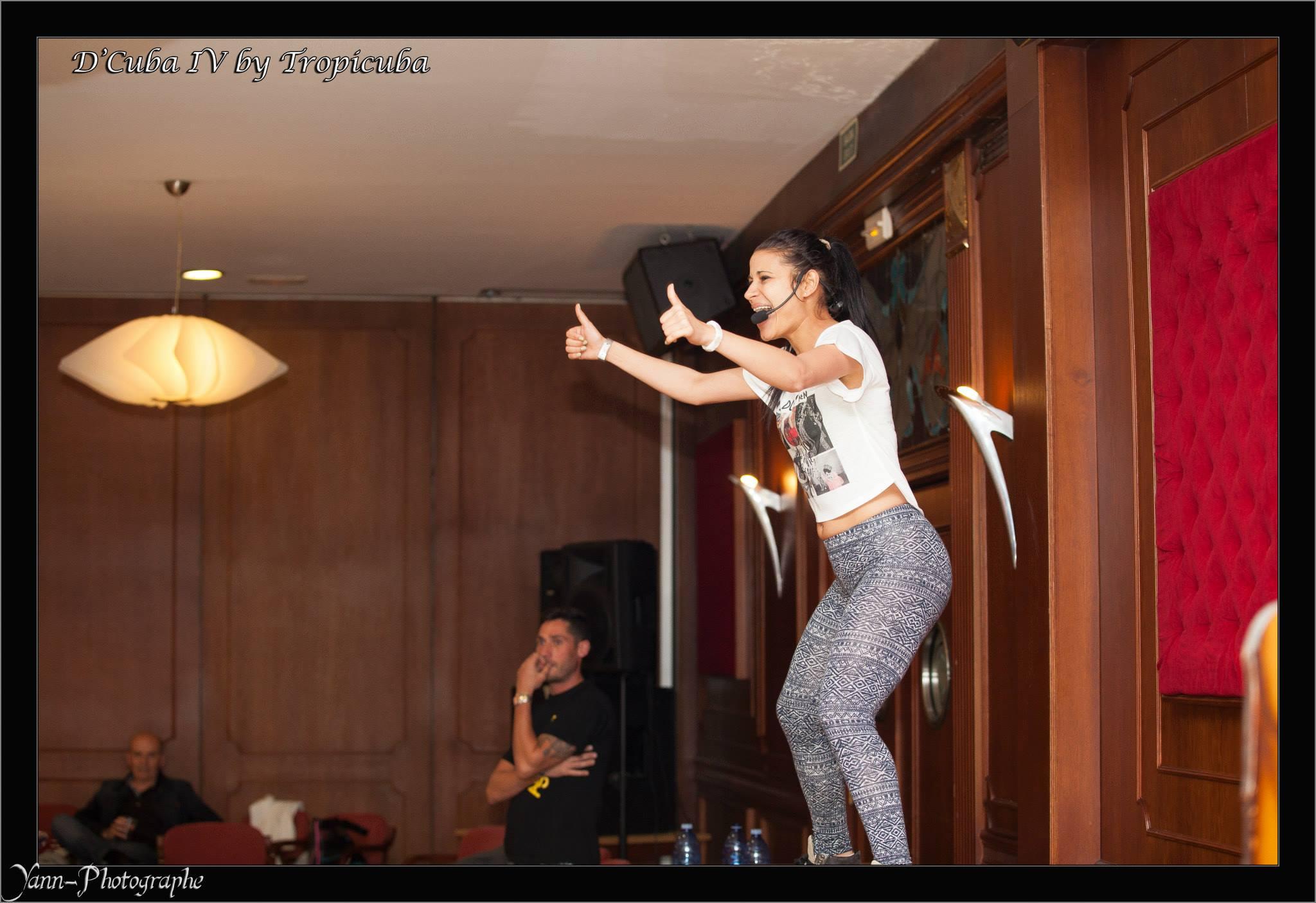 apprentissage de la danse latine
